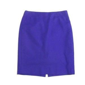J Crew No 2 Pencil Skirt Purple size 8
